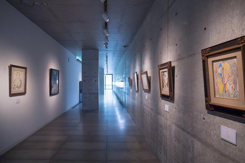 四国村ギャラリーは建築家・安藤忠雄氏の設計