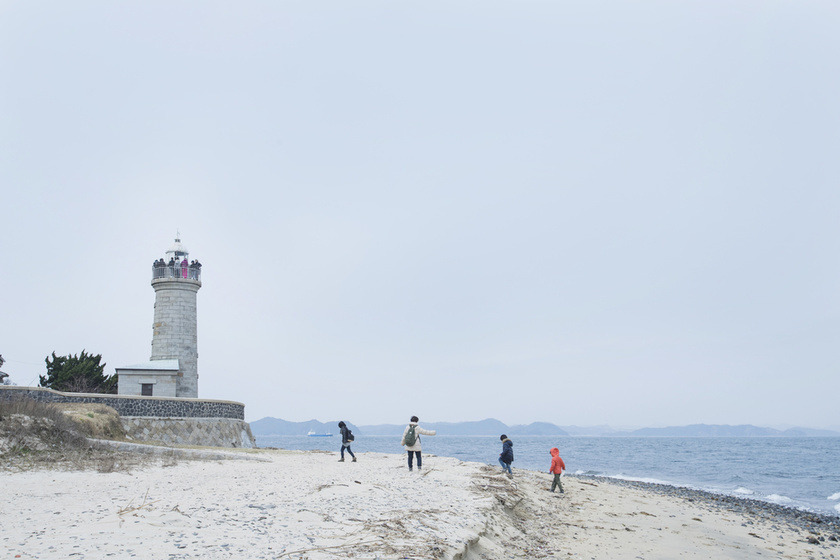 Ogijima Lighthouse and the Seto Inland Sea