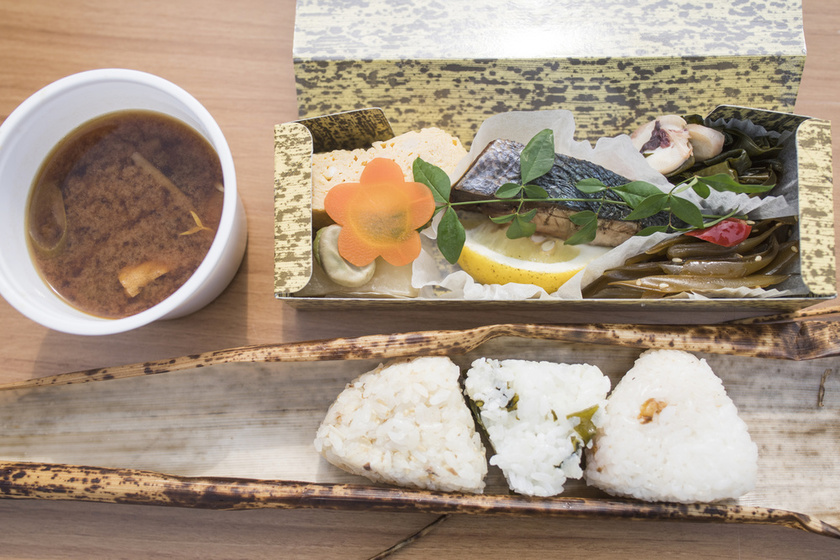 Special bento offered as Ogijima island style