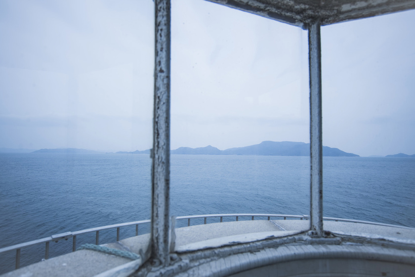 The Seto Inland Sea from Ogijima lighthouse