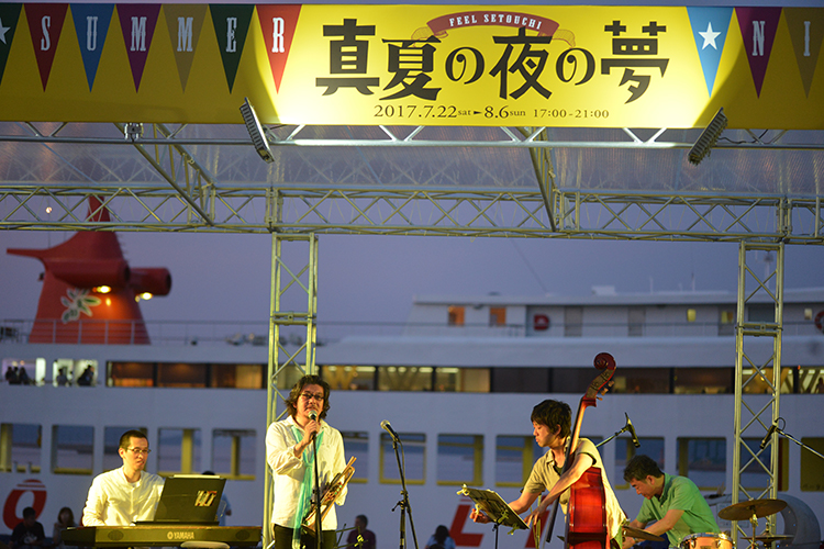 2019.07.20~08.04開催「SETOUCHI SUMMER NIGHT FESTIVAL 2019」