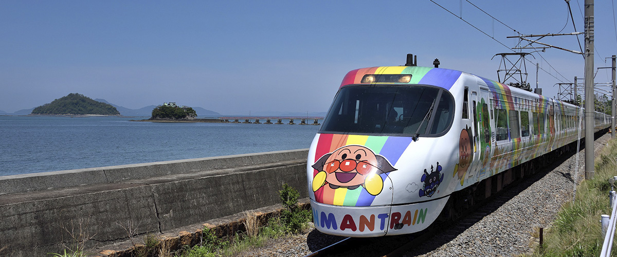 Anpanman trains